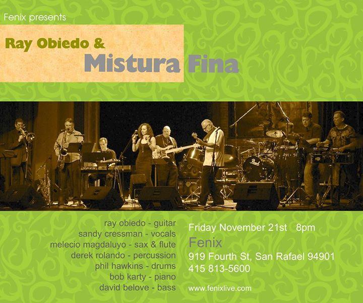 Mistura Fina at Armando's, November 15