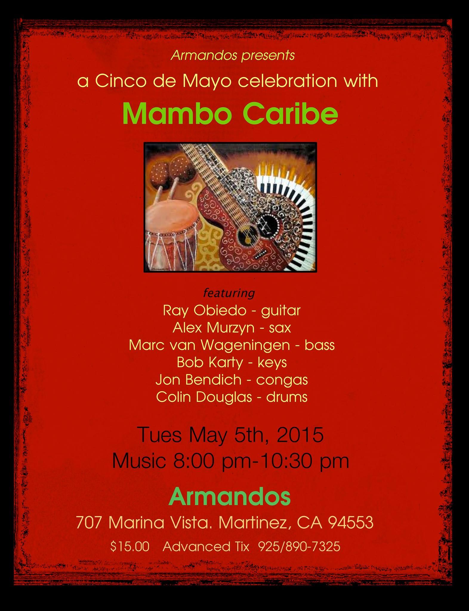 Mistura Fina at Armando's May 5