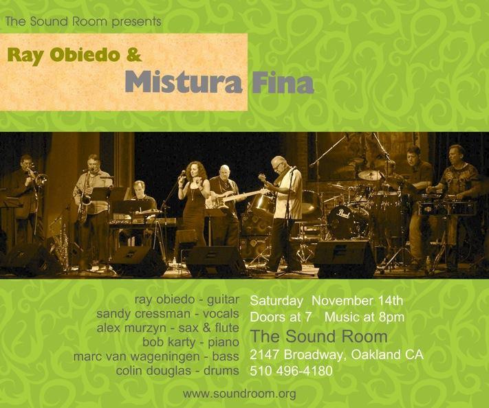 2015-11-14 Mistura Fina Sound Room