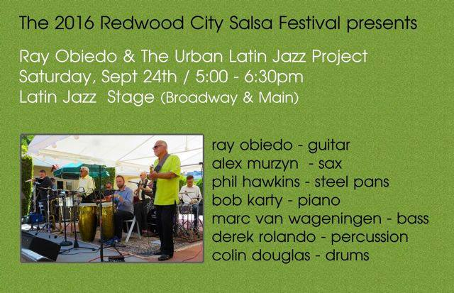 Ray O at Redwood City Salsa Festival